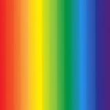 El arco iris abstracto colorea el fondo de las rayas Foto de archivo