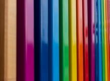 El arco iris colorea el detalle arquitectónico Fotos de archivo libres de regalías