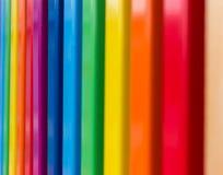 El arco iris colorea el detalle arquitectónico Fotografía de archivo libre de regalías