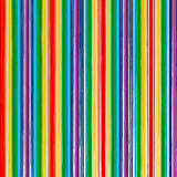 El arco iris del arte abstracto curvado alinea el fondo del color Imagen de archivo