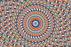 El arco iris del caleidoscopio colorea el fondo abstracto Fotografía de archivo libre de regalías