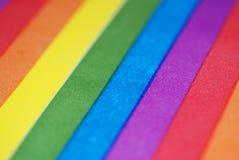 El arco iris raya el fondo Foto de archivo libre de regalías