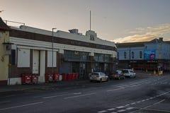 El arco Whitehaven de Bransty Imagenes de archivo