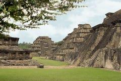 El arkeologiska Tajin fördärvar, Veracruz, Mexico royaltyfria bilder