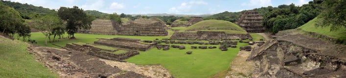 El arkeologiska Tajin fördärvar, Veracruz, Mexico Arkivfoton