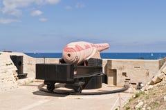 El arma de 100 toneladas Foto de archivo libre de regalías