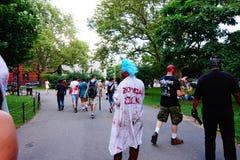 El arrastre 238 del zombi de 2017 NYC Imagen de archivo libre de regalías