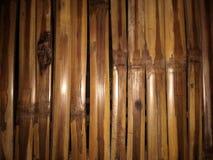 El arreglo de la madera de bambú Fotos de archivo libres de regalías