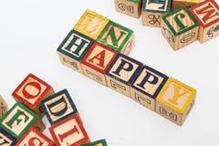 El arreglo de letras forma una palabra, versión 33 Fotos de archivo