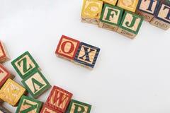 El arreglo de letras forma una palabra, versión 138 Imagen de archivo libre de regalías