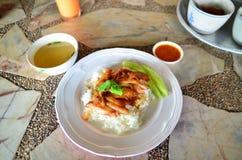 El arroz con cerdo imágenes de archivo libres de regalías
