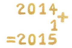 El arroz del jazmín trajo organizado en un número 2015 Fotografía de archivo libre de regalías