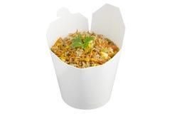 El arroz frito saca Foto de archivo