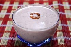 El arroz negro Kavuni fecha el kheer delicioso foto de archivo libre de regalías