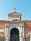 El arsenal veneciano, Venecia, Italia foto de archivo