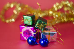 El artículo adorna para el árbol de navidad Foto de archivo libre de regalías