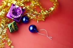 El artículo adorna para el árbol de navidad Imagen de archivo