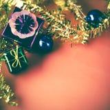 El artículo adorna para el árbol de navidad Imagen de archivo libre de regalías