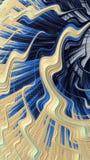 El arte abstracto texturizó remolinos Foto de archivo