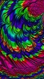 El arte abstracto texturizó remolinos Imagenes de archivo