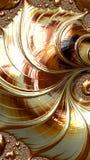 El arte abstracto texturizó remolinos foto de archivo libre de regalías