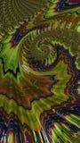 El arte abstracto texturizó remolinos Fotos de archivo