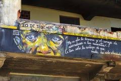 El arte de la gente de Telented en ciudad de Panamá Imagen de archivo libre de regalías