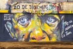 El arte de la gente de Telented en ciudad de Panamá Foto de archivo libre de regalías