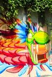 El arte de la gente de Telented en ciudad de Panamá Imagen de archivo