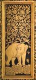 El arte de la laca de la cerda joven Foto de archivo libre de regalías