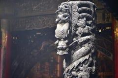 El arte de los templos de Taiwán Imagen de archivo