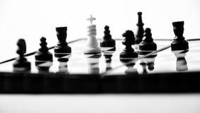 El arte del ajedrez Imagen de archivo