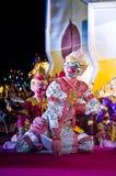 El arte del baile de Tailandia llamó el âKhonâ Fotografía de archivo
