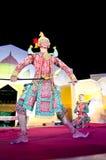 El arte del baile de Tailandia llamó el âKhonâ Fotos de archivo