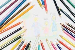 El arte del niño fotografía de archivo
