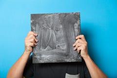 El arte hace publicidad del espacio en blanco del fondo, lona de la decoraci?n Tarjeta de la bandera del negocio Copie el espacio imagenes de archivo