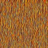El arte rayado del grunge del marrón y del oro wallpaper el fondo Imagen de archivo
