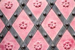 El arte y el modelo de tallar los cubiertos, textue del ornamento de metal imagenes de archivo