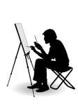 El artista drena libre illustration
