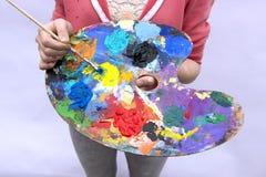¡Aliste para pintar! Imagenes de archivo