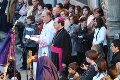El arzobispo de Pamplona. Foto de archivo