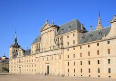 El asiento real de San Lorenzo de El Escorial Imagen de archivo libre de regalías