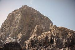 El asomar de la roca del pajar Fotos de archivo libres de regalías
