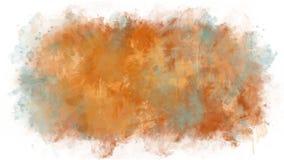El aspecto de las manchas del espray y de la pintura stock de ilustración