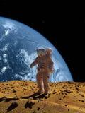 El astronauta Foto de archivo