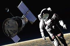El astronauta libre illustration