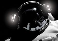 El astronauta stock de ilustración