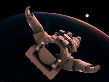 El astronauta Fotos de archivo libres de regalías