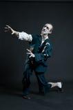 El asustar del zombi de la cólera Foto de archivo
