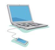 El atar de Smartphone Imagen de archivo libre de regalías